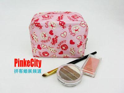 """都市拼客网送的索票礼""""新娘化妆包"""""""